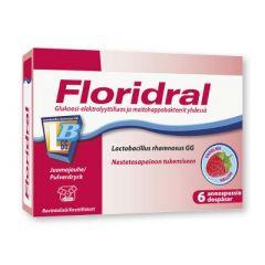 Floridral vadelma annosjauhe 6x6,8 g