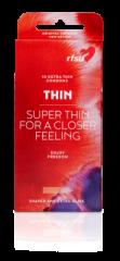 Thin kondomi, ohut muotoiltu 10 kpl