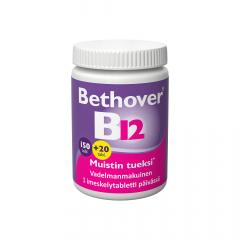 BETHOVER 1 MG B12-VITAMIINI 150+20 TABL