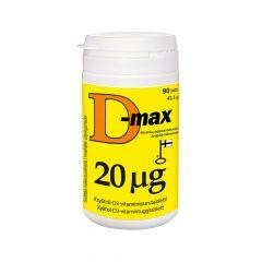 D-max 20 mikrog 90 tabl