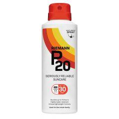 P20 SPF30 continuous spray aurinkosuoja 150 ml